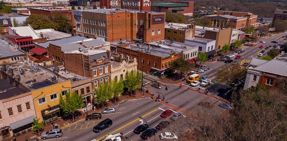 Best Areas to Stay in Athens, Georgia