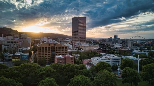 Mejor zona para turistas en Portland - Downtown