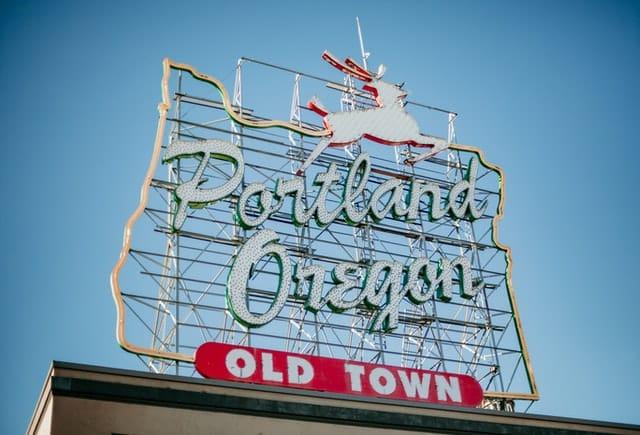 Mejor ubicación para hacer turismo en Portland, Oregon - Centro de la ciudad