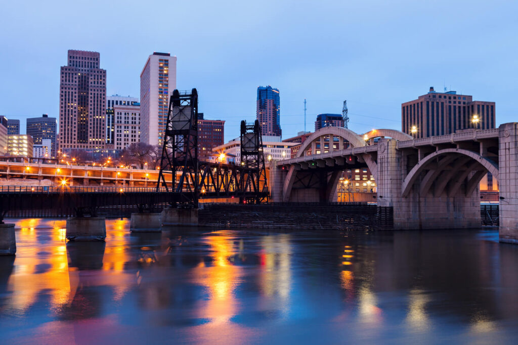Best locations in the Minneapolis-St Paul Metro Area - Downtown St Paul