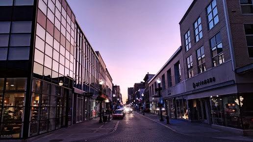 El mejor barrio donde dormir en Quebec City para shopping - Saint-Roch