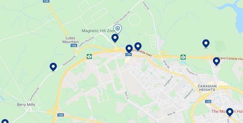 Alojamiento en Magnetic Hill - Haz clic para ver todo el alojamiento disponible en esta zona