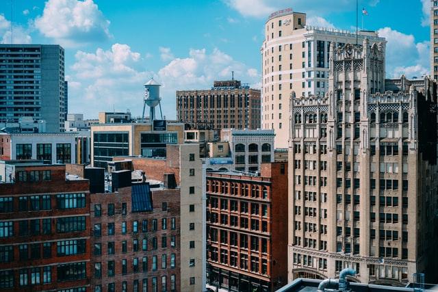 Mejor zona donde dormir en Detroit para viajeros de negocios - Downtown Detroit